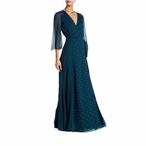 Tularosa - jolene wrap maxi dress